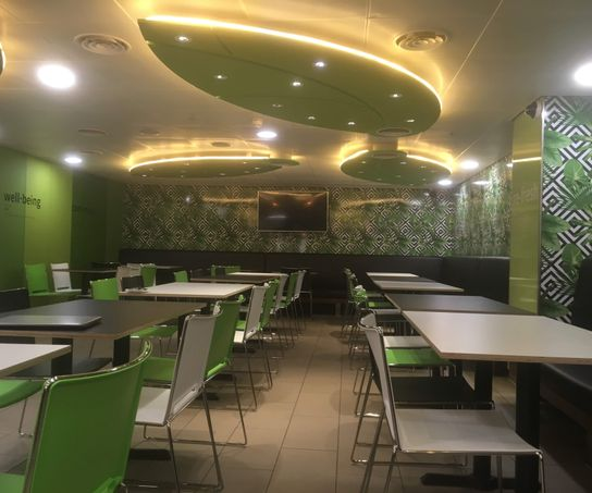Green staff canteen